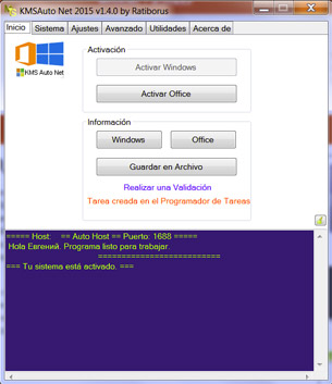 Descargar KMSauto Net. KMS activador para Windows Gratis.