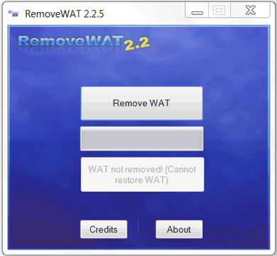 Descargar Remove Wat activador.  RemoveWAT Windows 7 Ultimate/Professional (64/32 bits).